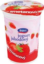 Jogurt smetanový ochucený Boni