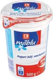 Bílý jogurt smetanový Milblu