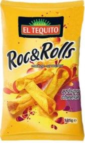 Kukuřičný snack Rock&Rolls El Tequito