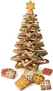 Souprava vykrajovátek - vánoční stromeček velký Delícia Tescoma