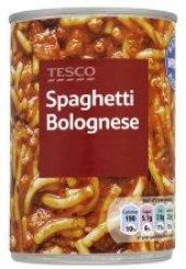 Špagetka Bolognese Tesco