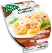 Špagety carbonara Chef Menü