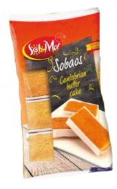 Moučník piškotový španělský Sobaos Sol&Mar