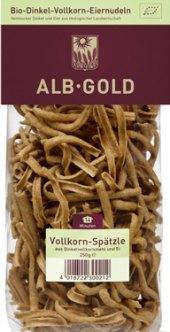 Špecle celozrnné Alb Gold