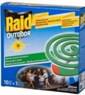 Přípravek proti komárům spirála Raid