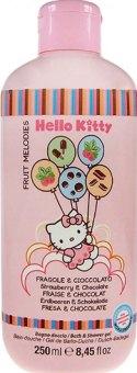 Sprchový a koupelový gel dětský Fruit Melodies Hello Kitty