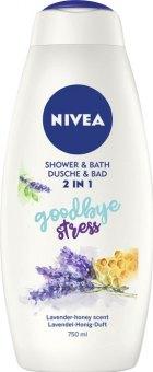 Sprchový gel a pěna do koupele 2v1 Nivea