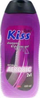Sprchový gel a šampon 2v1 dámský Kiss Mika