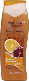 Sprchový peeling Wellness&Beauty