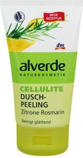 Sprchový peeling zpevňující Alverde