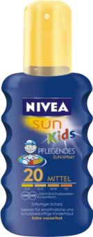 Sprej dětský barevný na opalování OF 20 Sun Nivea