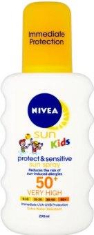 Sprej dětský na opalování OF 50+ Protect&Sensitive Sun Nivea