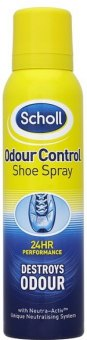 Deodorant sprej do bot Scholl