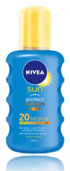 Sprej intenzivní na opalování OF 20 Protect&Bronze Sun Nivea