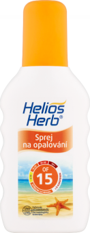Sprej na opalování OF 15 Helios Herb