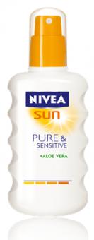 Sprej na opalování Sensitive Sun Nivea
