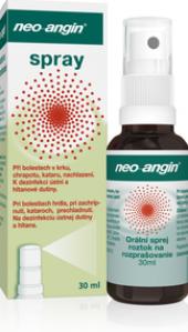 Sprej proti bolesti v krku Neo Angin