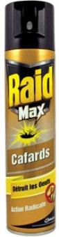 Přpravek proti švábům a pavoukům sprej Max Raid