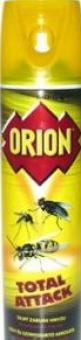 Přípravek proti hmyzu sprej Total Attack Orion