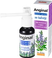 Sprej ústní proti bolesti v krku a zánětu Anginal