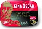 Šproty uzené v oleji King Oscar