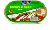 Šproty v oleji se zeleninou Losos