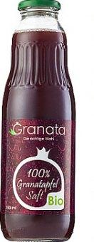 Šťáva 100% bio Granata