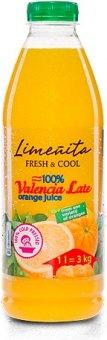 Šťáva 100% Fresh&Cool Limeňita