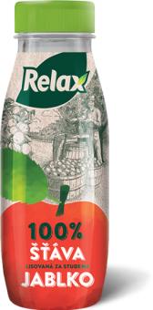Šťáva 100% lisovaná Relax