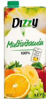 Šťáva ovocno-zeleninová Dizzy