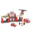Stavebnice požární stanice Playtive Junior