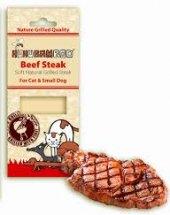 Pamlsky pro kočky a malé psy steak grilovaný Huhubamboo