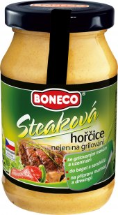 Hořčice steaková Boneco