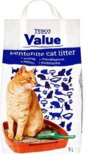 Stelivo pro kočky Tesco Value
