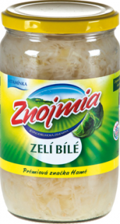 Zelí bílé sterilované Znojmia