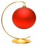 Stojan na vánoční ozdobu