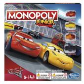 Stolní hra Monopoly Junior Auta 3 Hasbro