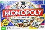 Stolní hra Monopoly Tady a teď Světová edice