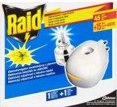 Odpařovač elektrický proti komárům 60 nocí Raid