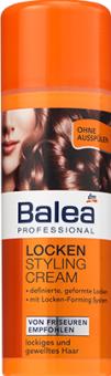 Stylingový krém na vlnité vlasy Professional Balea