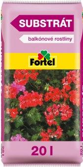 Substrát pro balkonové rostliny Fortel