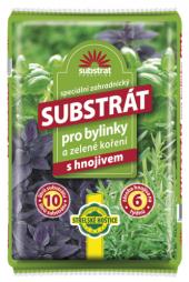 Substrát pro bylinky a zelené koření Forestina