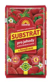 Substrát pro jahody a jiné drobné ovoce Forestina