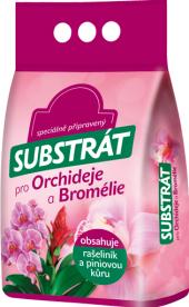 Substrát pro orchideje a bromelie