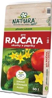 Substrát pro rajčata, okurky a papriky Natura Agro