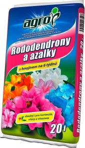 Substrát pro rododendrony a azalky Agro