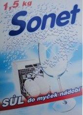 Sůl do myčky Sonet