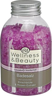 Koupelová sůl Wellness&Beauty