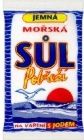 Mořská sůl Pobřeží