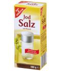 Sůl s jódem a fluorem Gut&Günstig Edeka